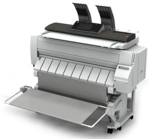 Photo of a Ricoh Wide Format Printer