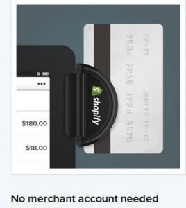 iPad Shopify plugin accepting credit card