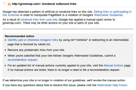 Unnatural Outbound Links