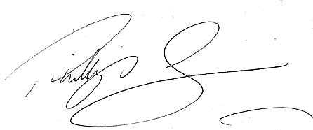 Phillip Dews signature