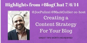 Joe Pulizzi Creating a Content Strategy for Your Blog