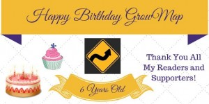 Happy Birthday GrowMap 6 years old