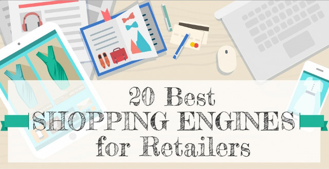 20 Best Shopping Engines for Retailers [Infographic] #ecommerce #etail