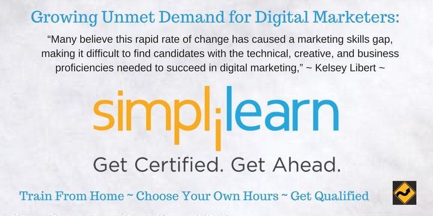 Growing Unmet Demand for Digital Marketers: How to Get Qualified Through Simplilearn