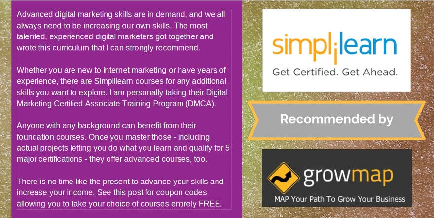 Simplilearn Digital Marketing Training Gail Gardner Testimonial