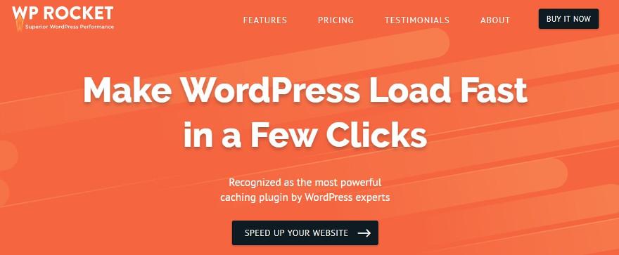 wprocket WordPress caching plugin